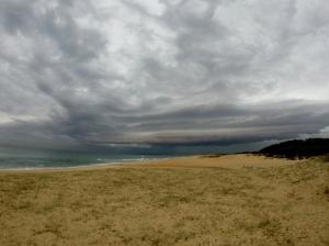 Storm cloud Redhead Beach 01-05-16