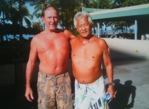 Terry and Donald Takayama